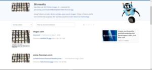 TinEyeの検索結果(2020年8月12日)