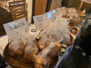 陳列されたパン縮小版