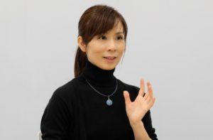 笠井千晶さん=2018年12月20日、石崎開撮影