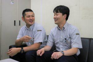 近藤さん(左)と熊井さん。仲の良さがうかがえます