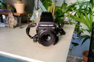 山口さんが初めて買ったカメラ、「Mamiya RZ67」