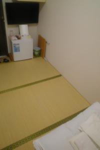 ホテルミライの通常の部屋。