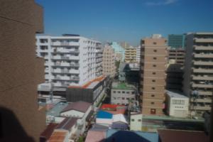 ホテルミライから寿地区を見る
